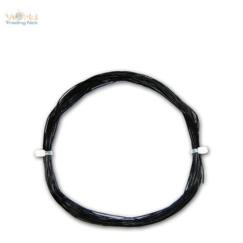 Cable 0,35 €//M 10m Braid Black 0,5mm//0 04mm² dekoderlitze mtg