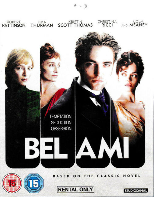 Bel Ami (Blu-ray)  - Robert Patterson - Brand New Rental Blu Ray