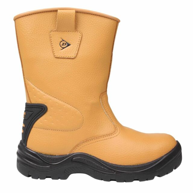 2 Buckles Safety Toe Cap Work Boots