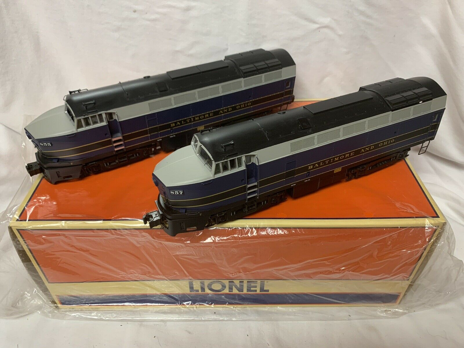 Motor diésel Lionel Legacy Baltimore & & & Ohio RF - 16 sharknose mth Sharks 8b3