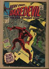 Daredevil #31 - Blind Man's Bluff! - 1967 (Grade 4.0) WH