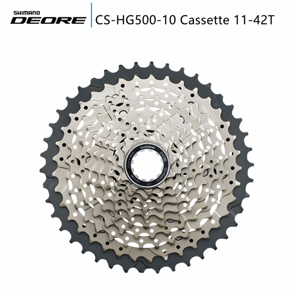 Shimano Deore CS-HG500-10 Speed 11-42T Mountain Bike M6000 Cassette MTB Bicycle