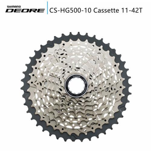 Shimano Deore CS-HG500-10 Speed 11-42T Mountain Bike Cassette MTB Bicycle HG500
