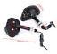 2-paires-de-Clignotant-Tete-de-Mort-Skull-NOIR-amp-Diodes-moto-custom-quad-trike miniature 4