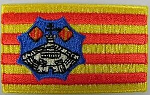 Menorca-Aufnaeher-gestickt-Flagge-Fahne-Patch-Aufbuegler-6-5cm-neu