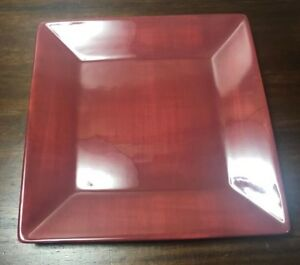 Tabletops-CORSICA-HOME-Burgandy-Red-Square-Dinner-Plate-10-1-4-034