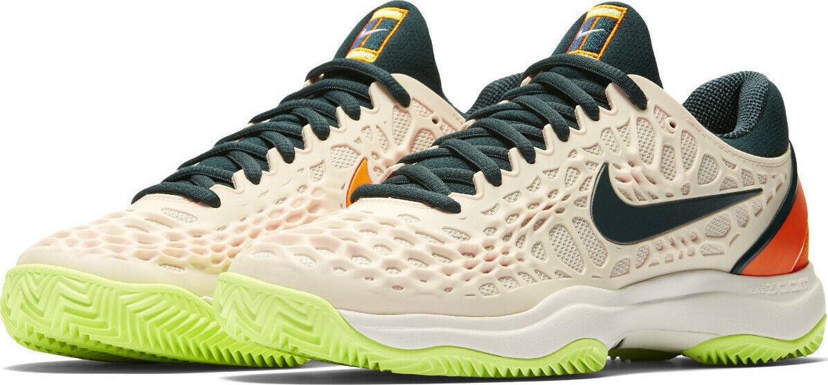 Nike Mujeres Air Zoom  Cage 3 Arcilla-Guayaba hielo y Piel de Naranja 3.5  minoristas en línea