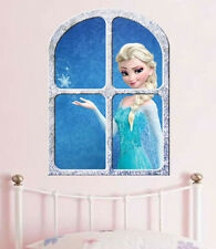 Disney  FROZEN   ELSA the SNOW QUEEN   GIANT WINDOW VIEW  POSTER