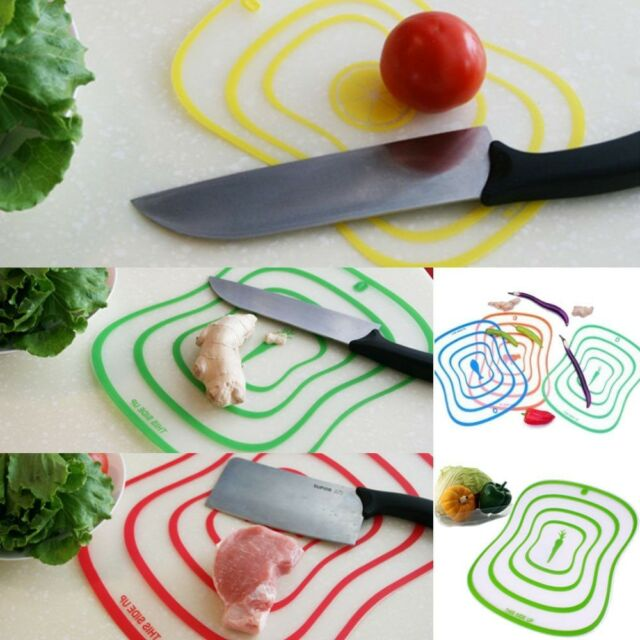 NEW Ultra-thin Mini Flexible PP Chopping Cutting Board Mat Plastic