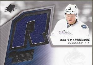 HUNTER-SHINKARUK-2015-16-Upper-Deck-SPx-Retro-Rookie-Jersey-SPXR-SH-Canucks