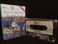 IRON MAIDEN Live After Death / 1990 / MC CASSETTE