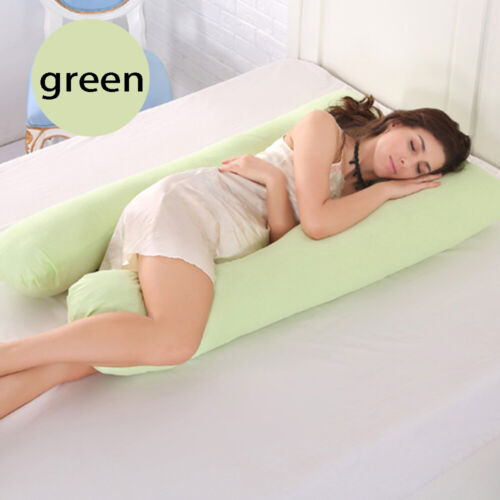 U-Shape Pillows Case Sleeping Support Pillow Cover Maternity Pregnant