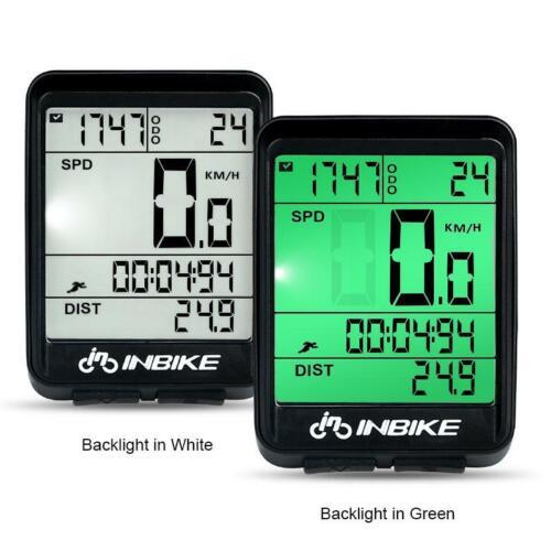 Wireless Cycling Bike Computer Bicycle Waterproof LED Speedometer Odometer hot