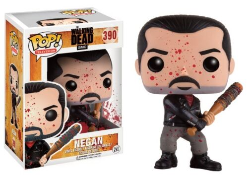 Negan Lucille Bloody The Walking Dead POP Television #390 Vinyl Figur Funko