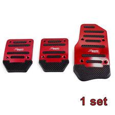 Set Non Slip Car Pedal Cover Manual Transmission Brake Clutch Accelerator Parts Fits Isuzu