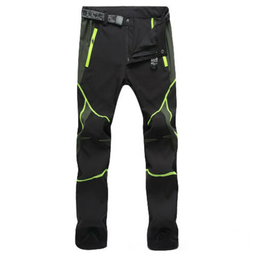 Mens Outdoor Pants Hiking Climbing Cargo  Casual Waterproof Quick Dry Trousers