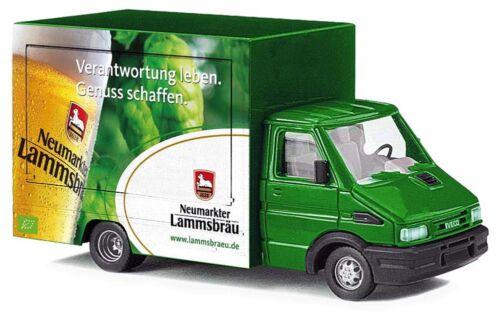 BUSCH 47931 Iveco Daily Ausschankwagen Lammsbräu H0 #NEU OVP#