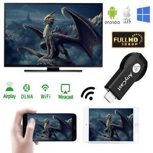 Anycast M2 WiFi Pantalla receptor de TV Dongle palo cromecast Miracast Airplay hdmi
