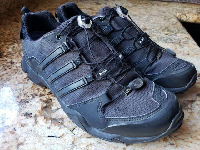 aliexpress fashion style 2018 shoes Adidas Men's TERREX Swift R GTX Gray Gore Tex Hiking Shoes Size 7.5