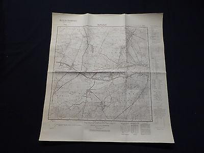 100% QualitäT Landkarte Meßtischblatt 3147 Ruhlsdorf, Zerpenschleuse, Finow-kanal, 1937