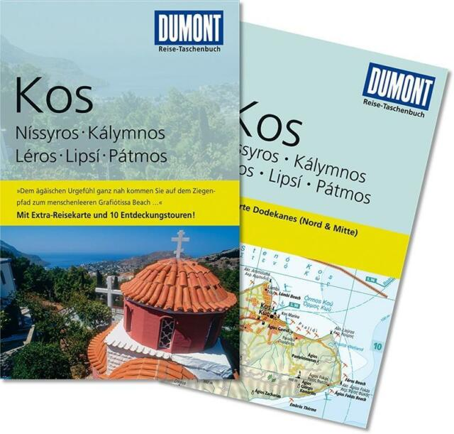 Kos UNGELESEN 2013  + Karte  Dumont Reise-Taschenbuch TB Griechenland