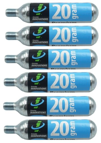Multi-Lots Genuine Innovations Co2 20g Threaded Refill Cartridges Inflate Bike