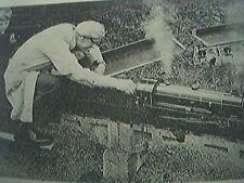 magazine picture 1963 - rugby j h owen merlin locomotive