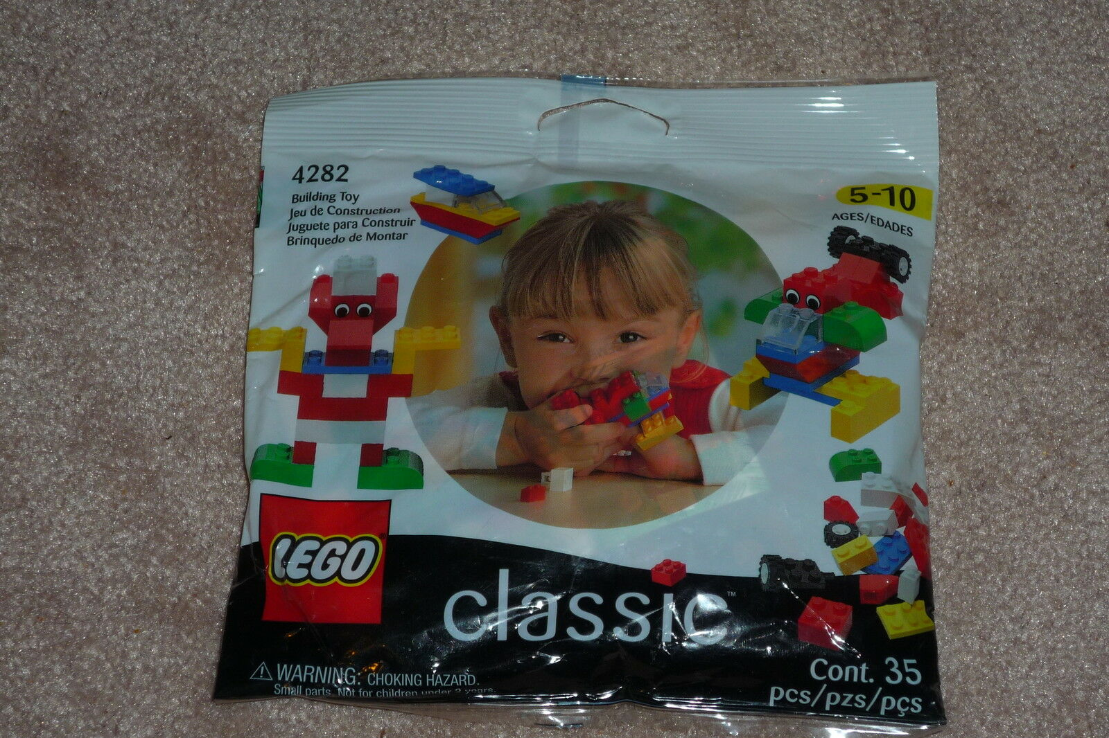 RARE Lego Classic Set NEW & SEALED  35pcs (1999)