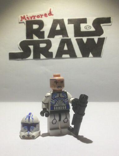 Clone Custom Troopers Lego Star Wars minifigures Hardcase 501st
