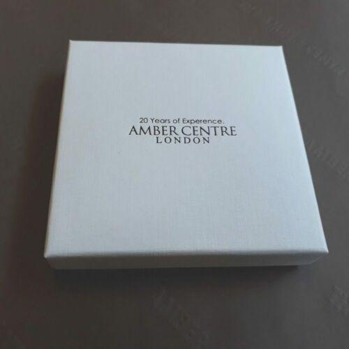 Pendant German Baltic Amber Elegant Hand Made 925 Silver PD022 RRP£25!!!