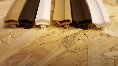 (1,90€/m), Ab 5m Zimmertürdichtung L3001 Und L3002 Türdichtung Holztürdichtung Hohe QualitäT Und Geringer Aufwand