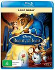Beauty And The Beast (Blu-ray, 2015, 2-Disc Set)