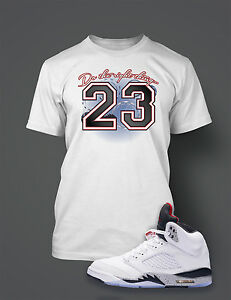 26d52025fe63 Do the Right Thing Graphic Tee shirt To match AIR JORDAN 5 WHITE ...