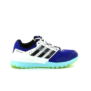 Blue S83236 White Cushion Running Shoes