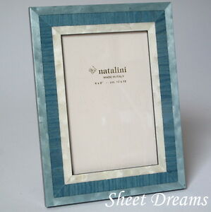 Natalini Blue Hand Made Italy Marquetry Photo Picture