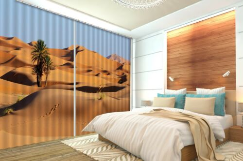 3D Himmel Wüste 68 Blockout Photo Curtain Print Curtains Drapes Fabric Window AU