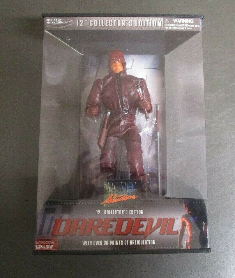Darotevil 12  2002 MARVEL STUDIOUS Collector's Edition Toy Biz MIB GV