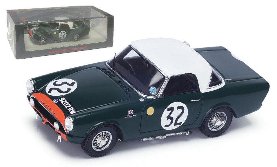 SPARK S4050 SUNBEAM ALPINE  32 Le Mans 1962-HARPER Procter échelle 1 43