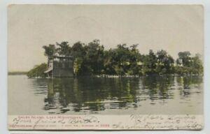 1907-Lake-Minnetonka-Gales-Island-Postcard