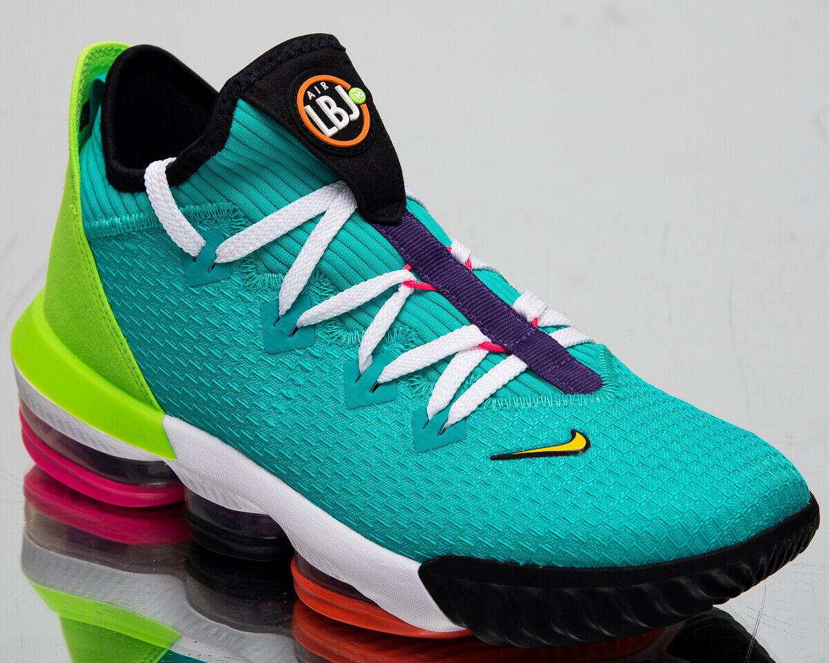 Nike Lebron XVI Niedrig Hyper Jade Herren James Basketballschuhe Turnschuhe