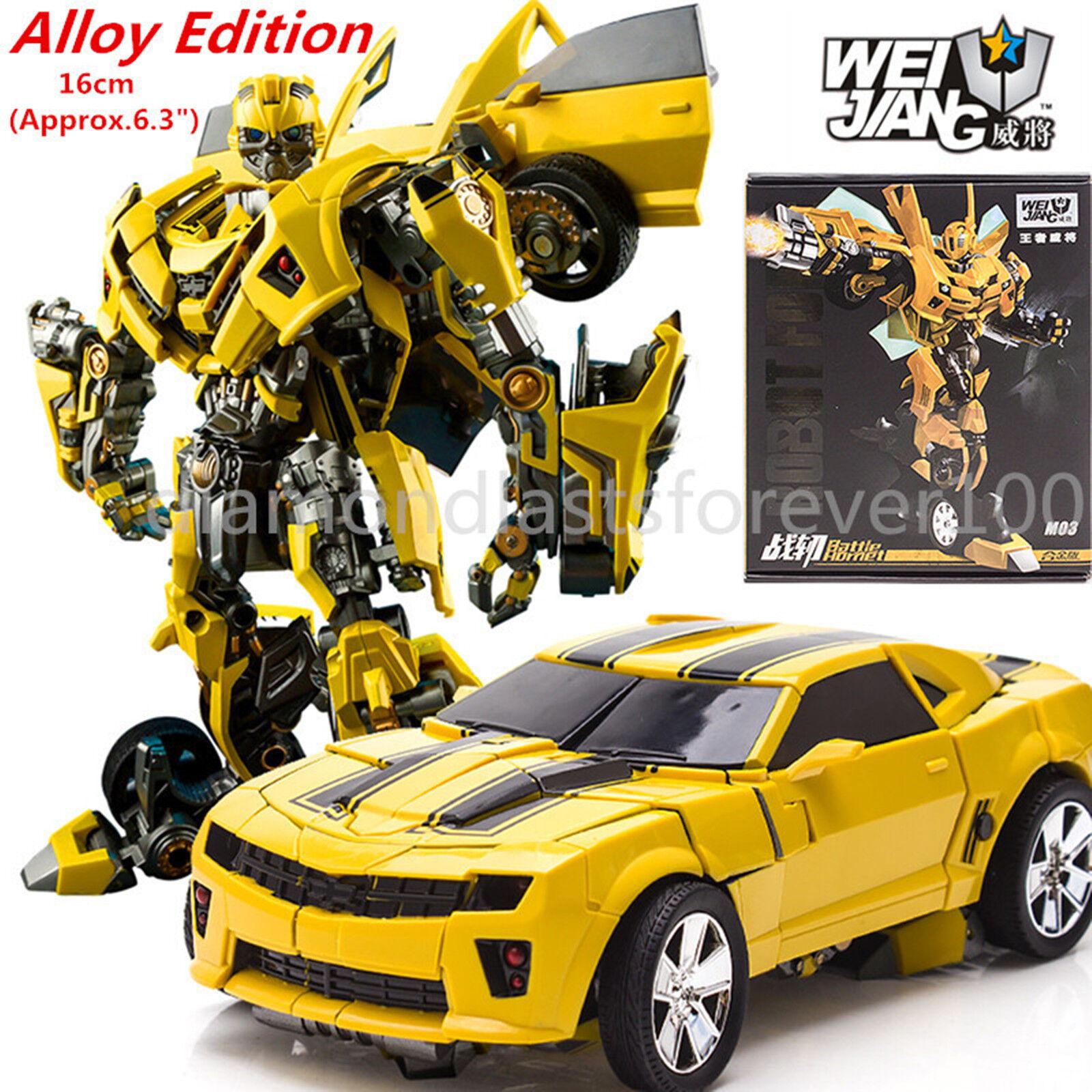 WeiJiang Action Figure Transformation Robot Force Battle Hornet Kids Toys Gifts