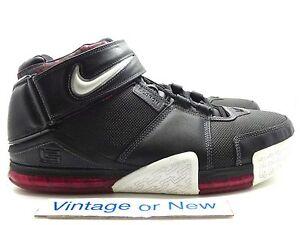 new style e2231 03976 Image is loading Nike-Zoom-LeBron-II-2-Black-White-Metallic-