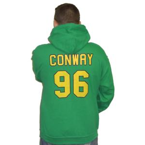 Charlie Conway #96 Mighty Ducks Movie Jersey Hoodie Hooded Sweatshirt Sweater