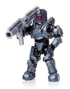Details about Halo Mega Bloks UNSC Spartan Warmaster from set # DXF03  Fireteam Shadow