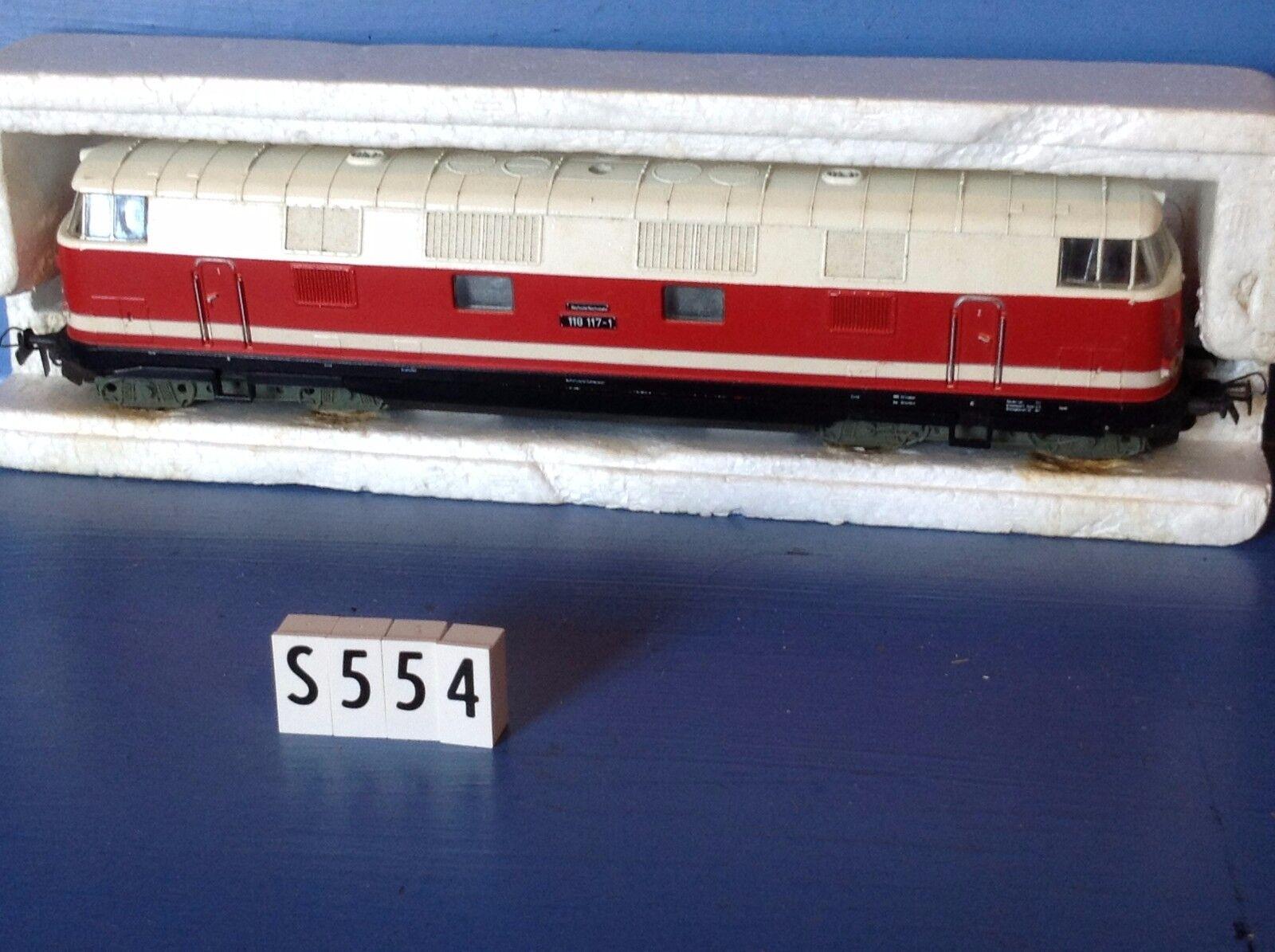 S554  locomotive GUTZOLD 118117-1 Piko - Fleishmann Jouef, ech : Ho