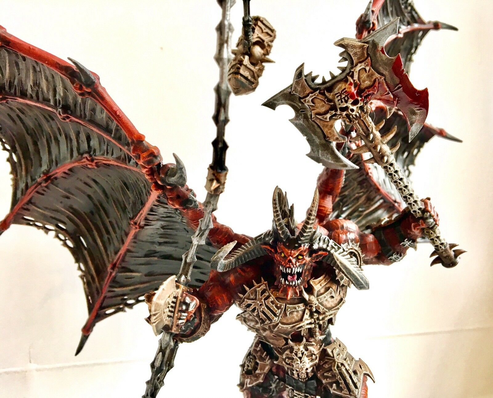 Khorne Bloodthirster Pro Painted Commission