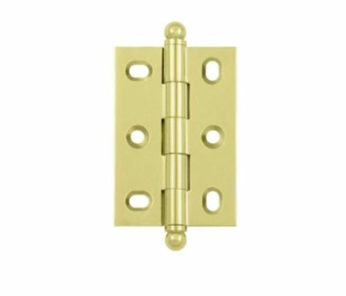 Cabinet Hinge Adjustable with Ball Tips Solid Brass in 6 Finishes By FPL Door