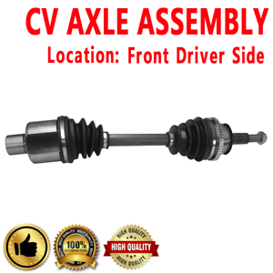 1x Front Driver Side CV Axle Drive For FORD WINDSTAR 1999 2000 2001 2002 2003