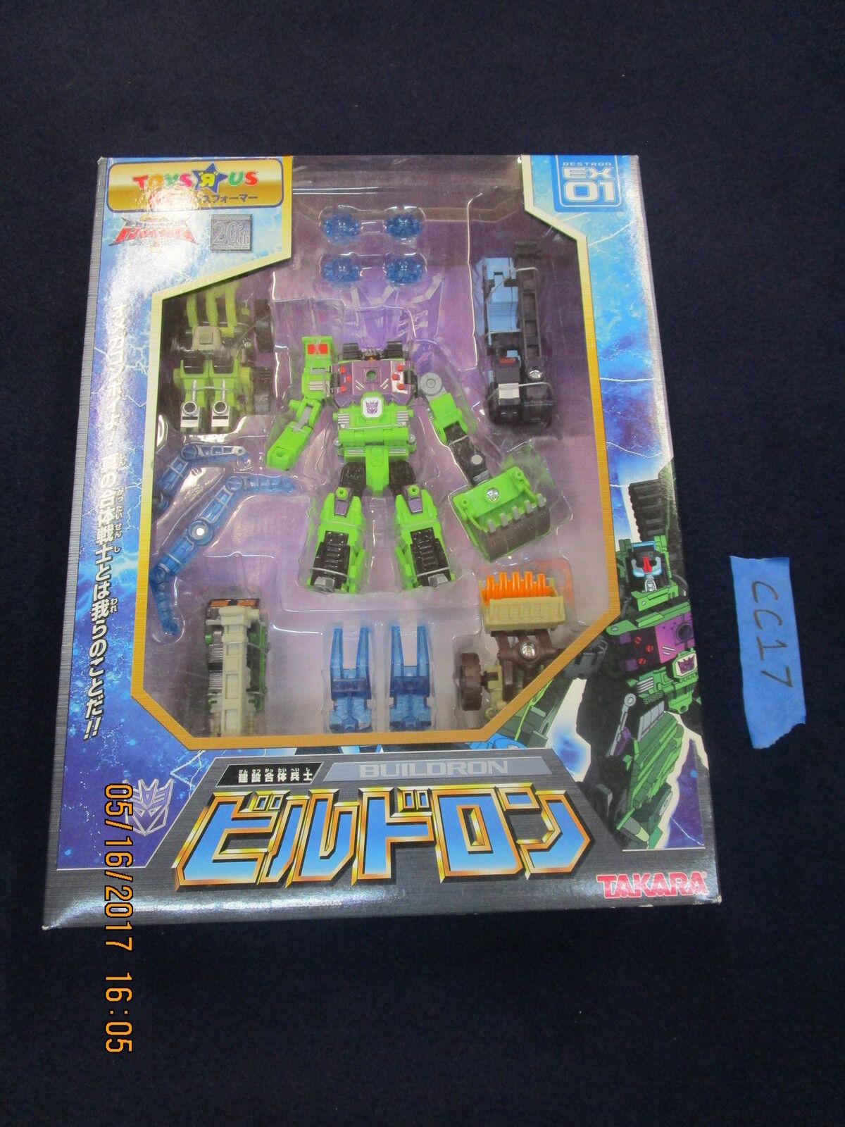 Transformer Lot SUPER LINK EX01 BUILDRON Energon Constructicon Constructicon Maximus superlink