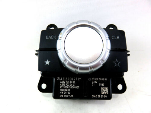 14-15 MERCEDES BENZ E CLASS RADIO DISPLAY CONTROL SWITCH KNOB OEM XS00186 D